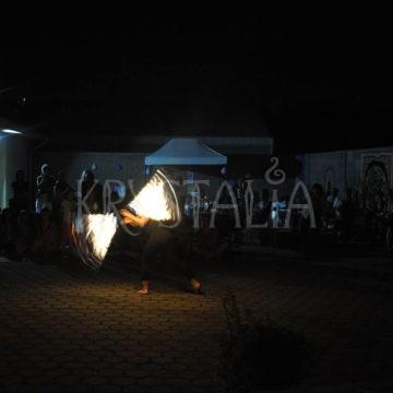Fireshow - 4.narodeniny Krystalie