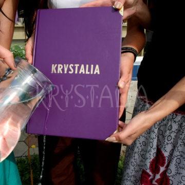 1.narodeniny Krystalie - krst kroniky