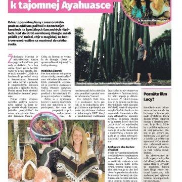 Žilinec - Cez šamanov sa dostala k tajomnej Ayahuasce