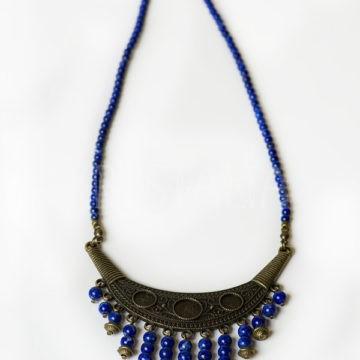 veľkňažka, náhrdelník, lapis lazuli