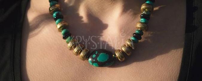 kráľovná egypta, náhrdelník, tyrkys, onyx
