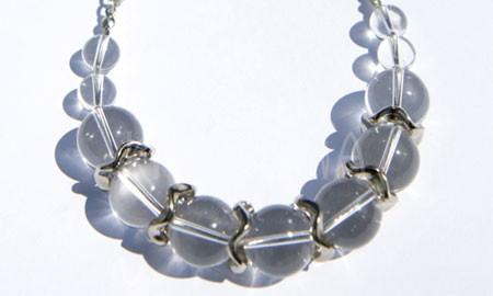 rhiannon. náhrdelník, krištáľ