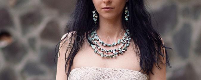 tajomstvo atlantídy, náhrdelník, náušnice, larimar