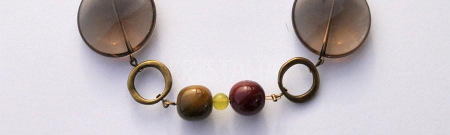 zrkadlo duše, náhrdelník, záhneda, jadeit, mookait