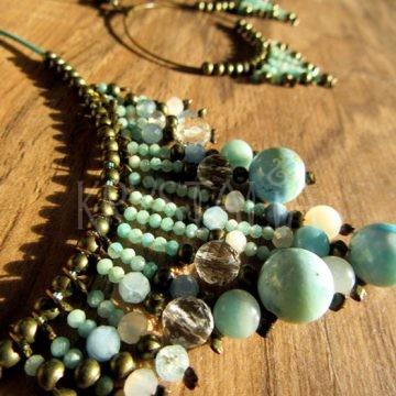 šperky na objednávku larimar