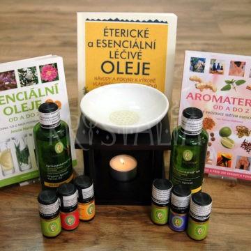 aromaterapia, esenciálne oleje, aromalampa
