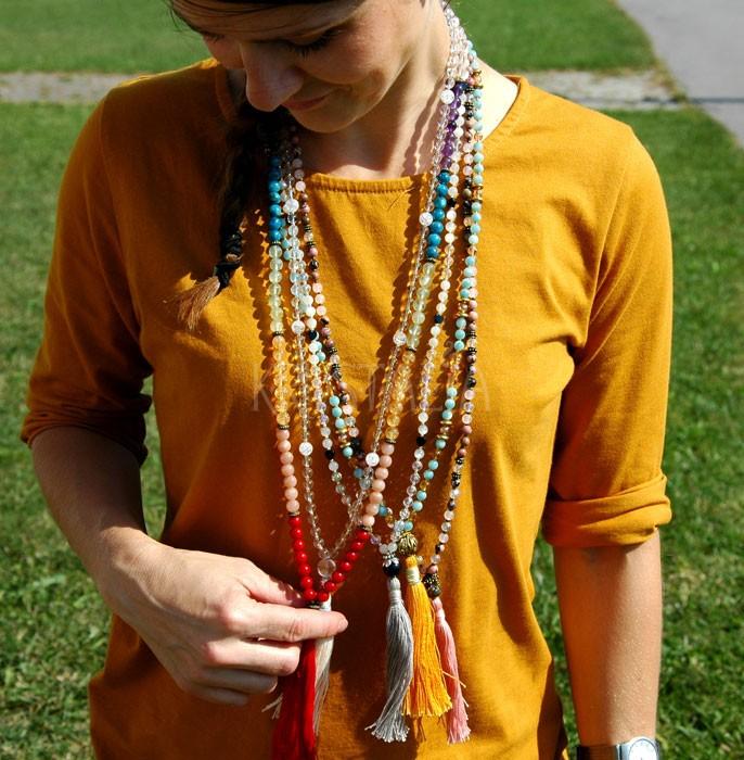 MALA náhrdelník -  lapis lazuli, mesačný kameň