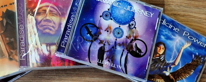 cd, šamanská hudba