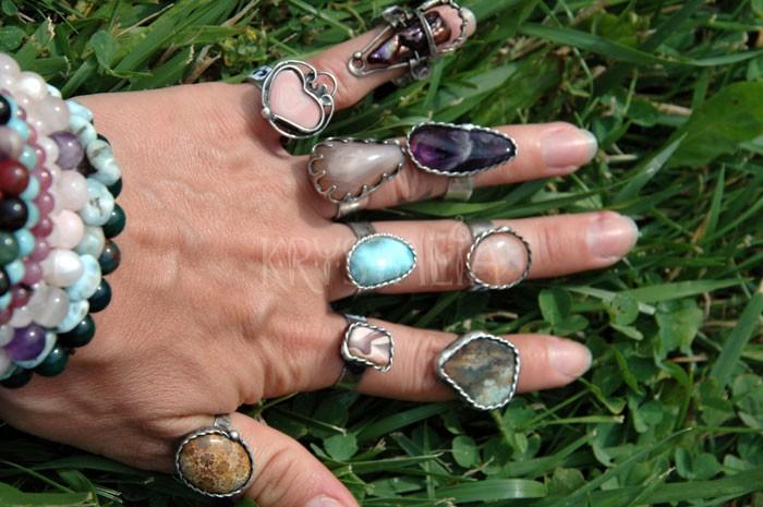 Cínované prstienky