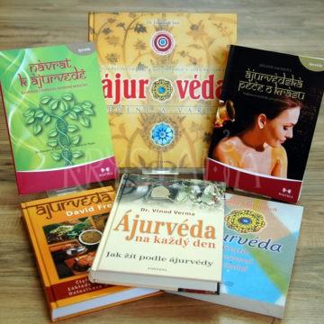 knihy o ajurvéde