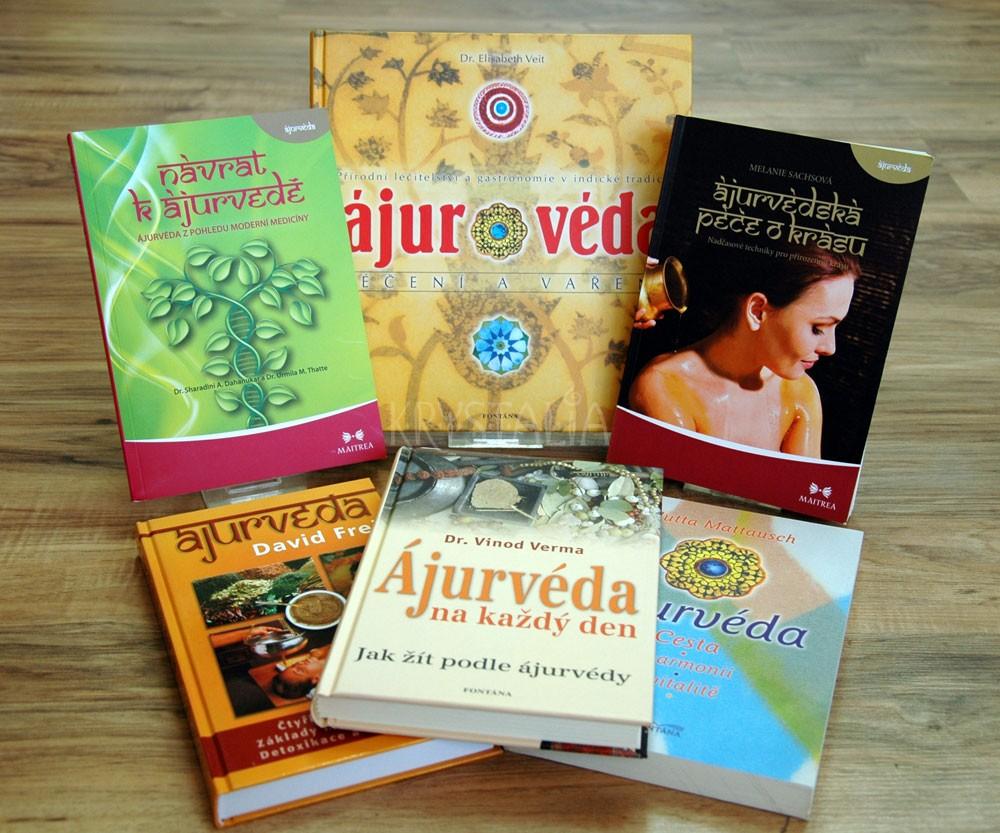 Knihy - Ájurvéda