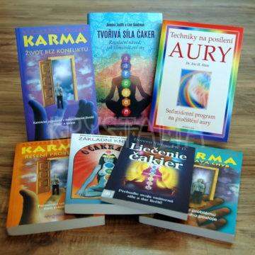 Čakry, aura, knihy o karme