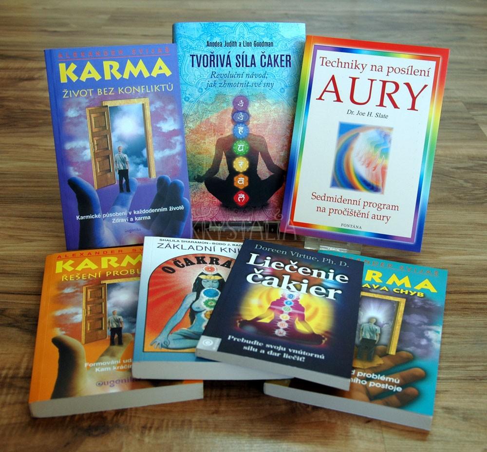 Knihy - Čakry, aura, knihy o karme