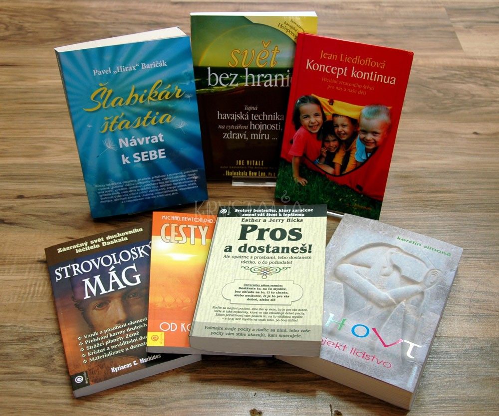 Knihy - Duchovný a osobnostný rozvoj