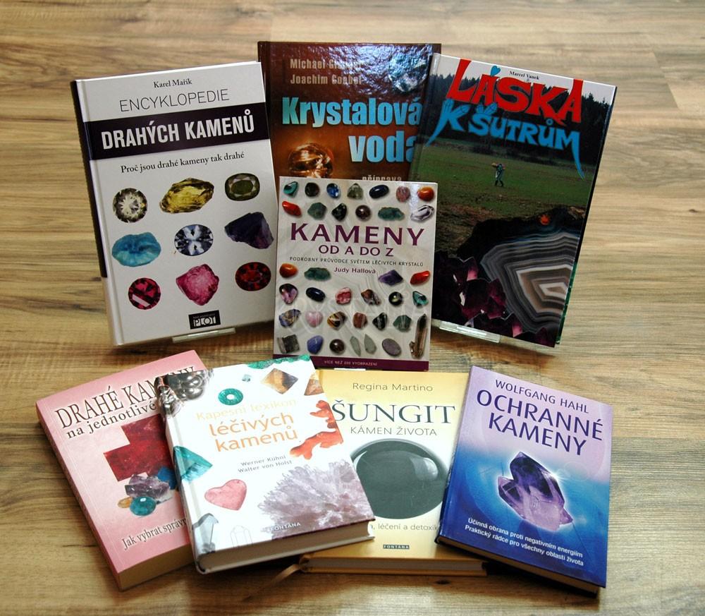 Knihy o kameňoch