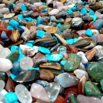 leštené kamene