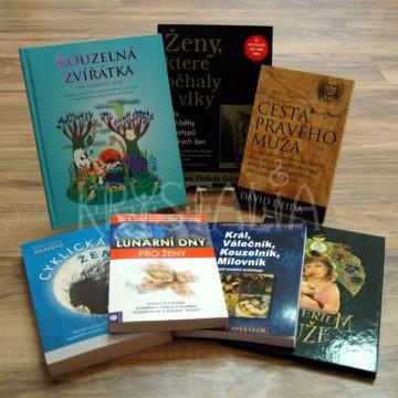 Knihy pre mužov, pre ženy, pre deti