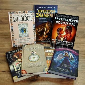 knihy, astrológia, numerológia