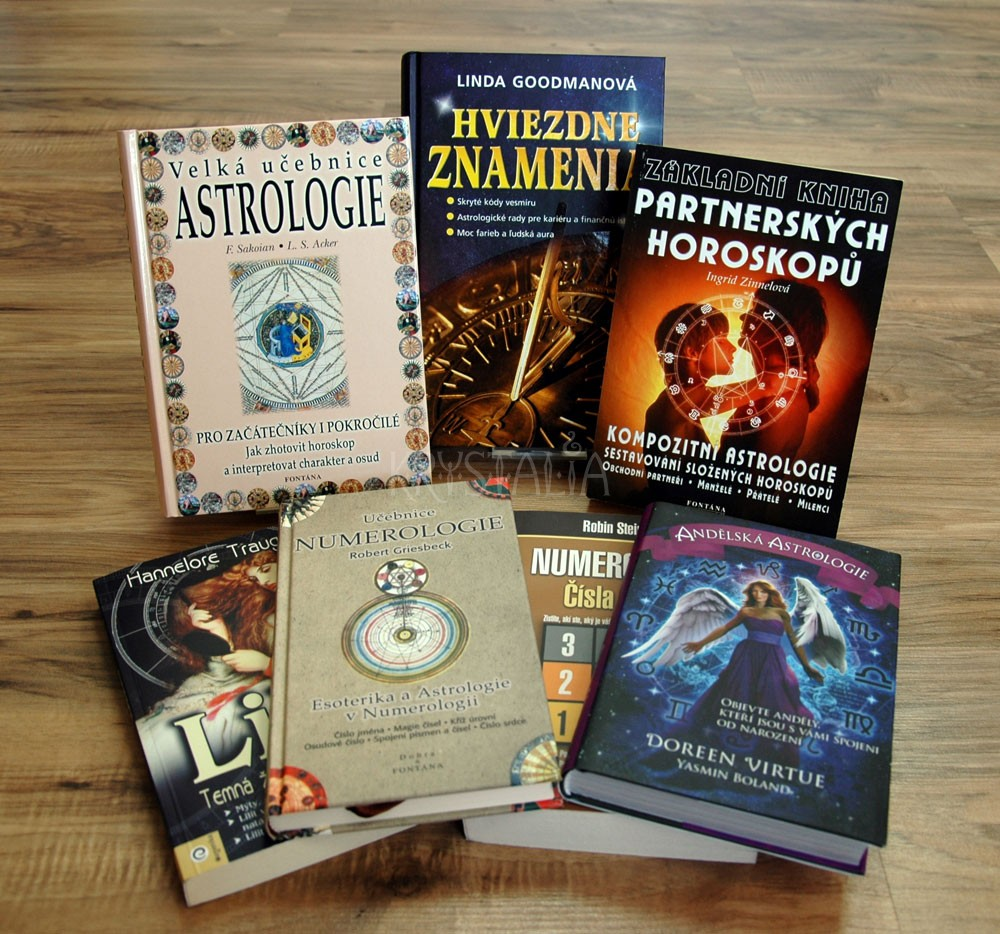 Knihy - Astrológia a numerológia
