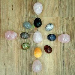 Kameninové vajíčka v troch veľkostiach