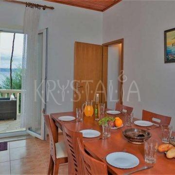 Kuchynka s jedálňou sa nachádza v každom apartmáne