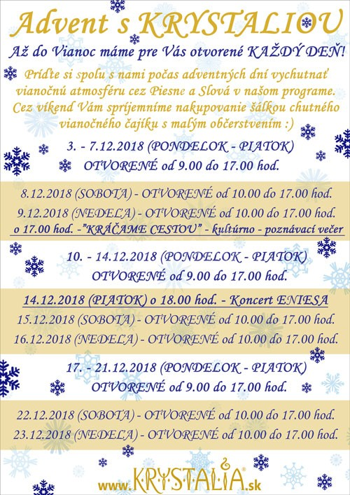 Advent s Krystaliou