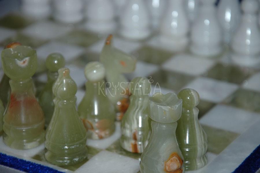 Šachová súprava z pakistanského ónyxu