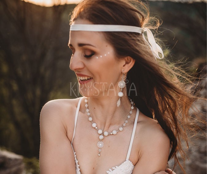svadobné šperky krystalia
