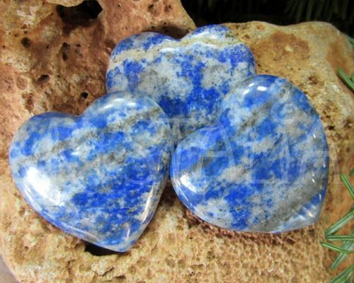 Hmatka - srdiečko z Lapisu Lazuli