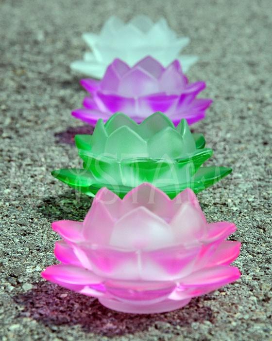 svietniky - lotosové kvety