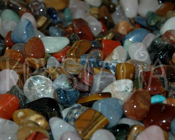 Zmes kameňov z Afriky